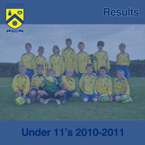 U11 Results – 17th October 2010
