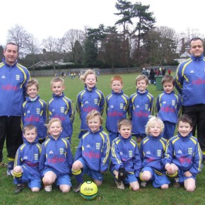 PJFC Under 7s – First Half of the Season 2010/11