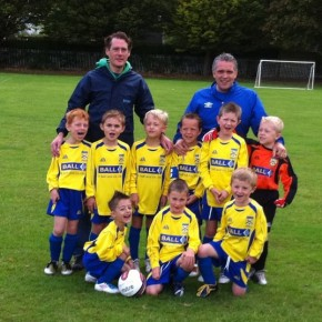 Under 7s – First Matches