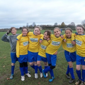 Penkridge U 11 Girls v Stafford town girls