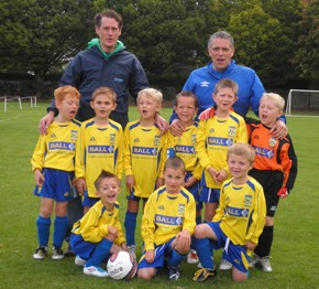 Penkridge Junior U7′s 'our season so far'