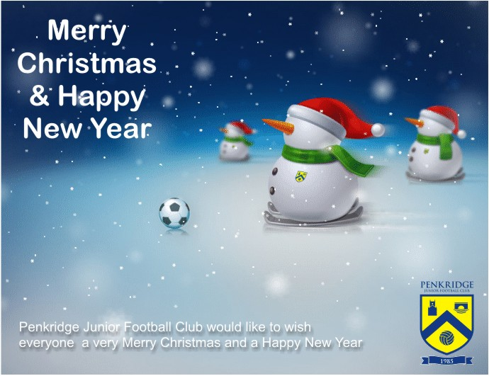 Wishing everyone a very Merry Christmas and a Happy New ... Rolling Soccer Ball