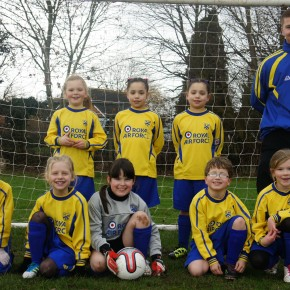 PJFC Under 8 girls – 21st jan 2012