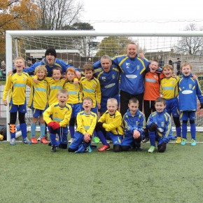 Penkridge Junior u9′s Mid Staffs Cup Semi and Final Match Reports – 24/11/13